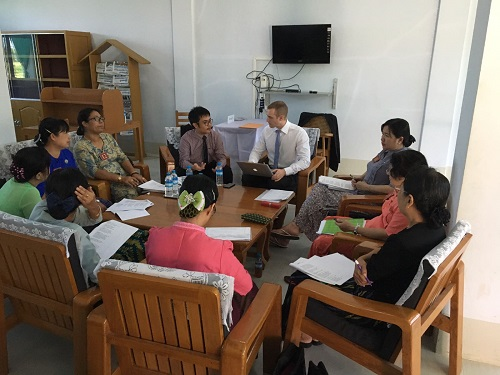 UNITAR and UNDP in Myanmar