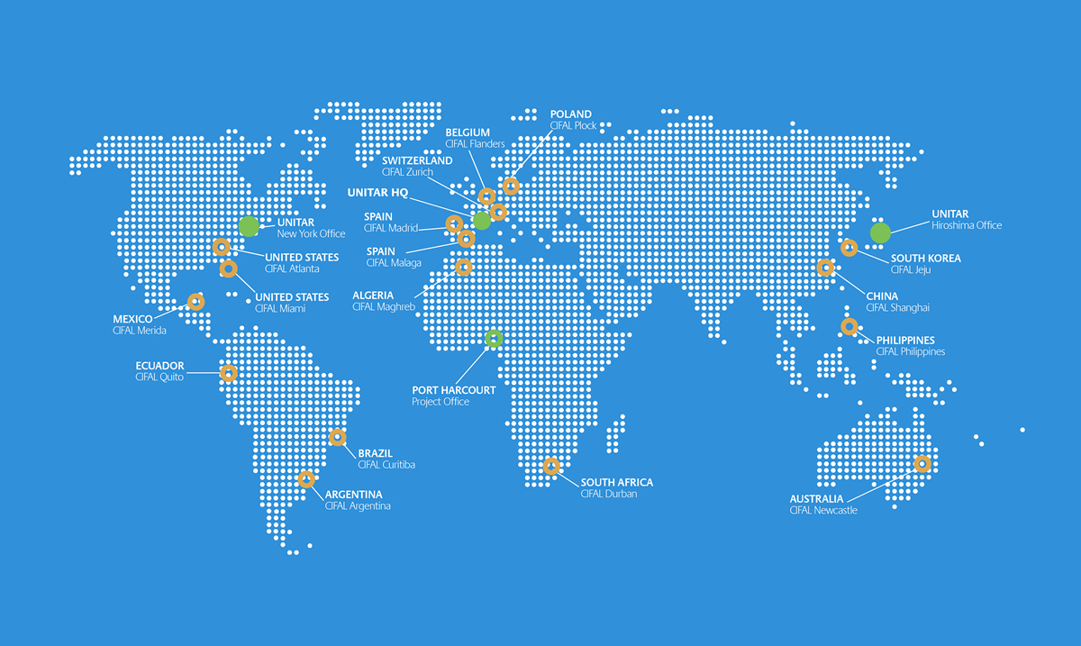 UNITAR around the world