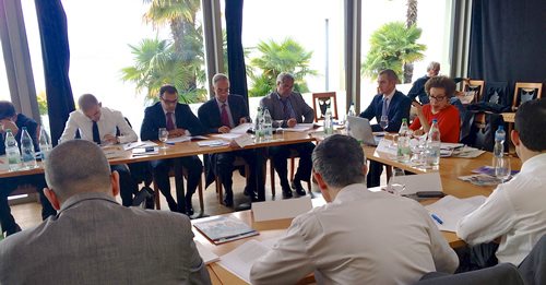 UNITAR hosts peace and security retreat for Algerian Diplomats in Montreux