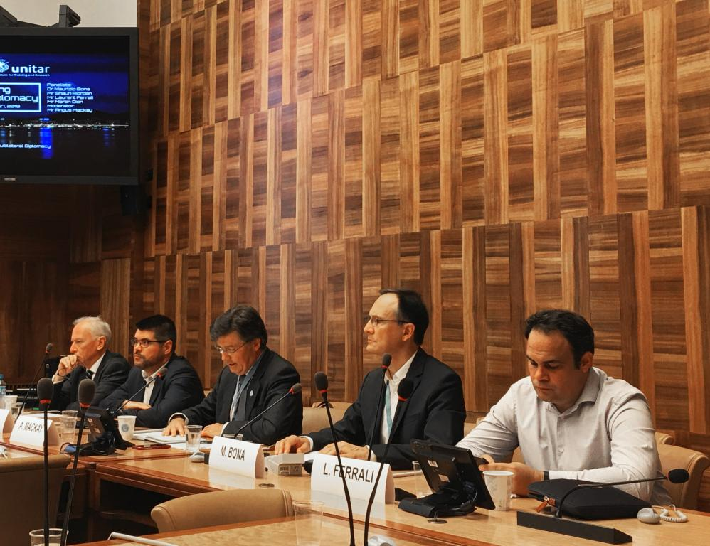 UNITAR Hosts Panel on Defining Frontier Diplomacy