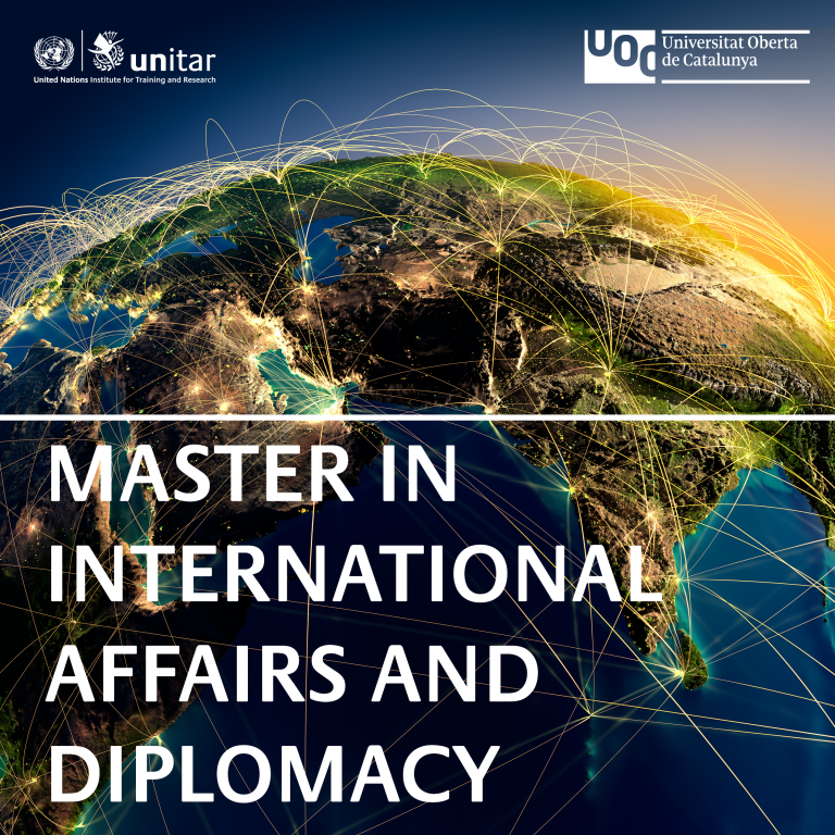 Second Edition of Online Master in International Affairs and Diplomacy