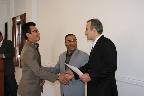 negotiation skills workshop for Nepalese diplomats
