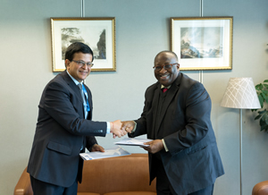 UNITAR and WAIFEM sign an agreement