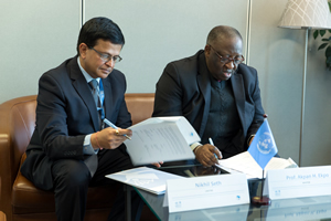 UNITAR and WAIFEM conclude an agreement
