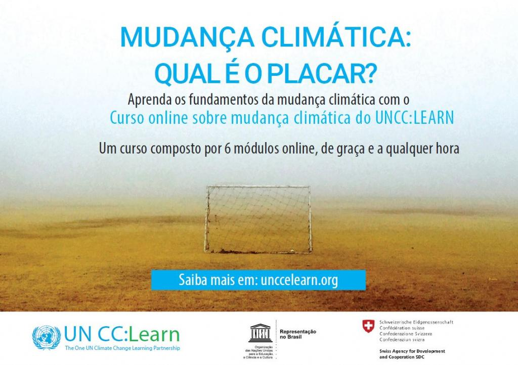 UN CC:Learn Introductory e-course in Climate Change will be available in Portugese