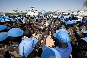 UNITAR contributes to Zambian Battalion Training for Diployment in Central African Republic