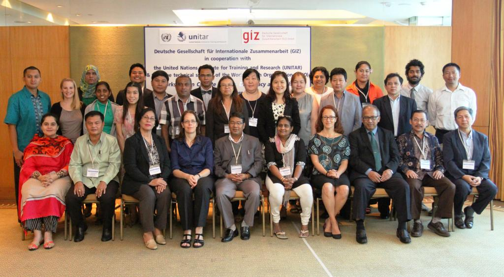Group Picture UNITAR Workshop on Climate Change Diplomacy and Health