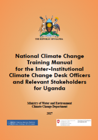 New Training Manual on Climate Change for Desk-Officers and Other Relevant Stakeholders in Uganda