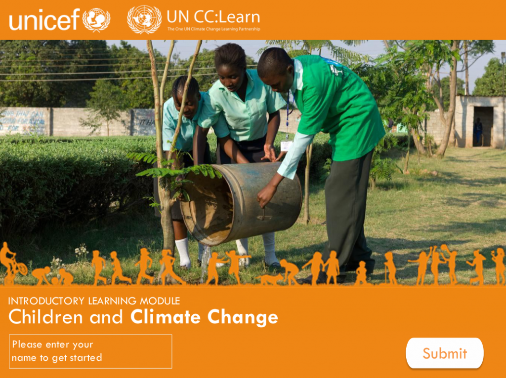 Specialized Module on Children and Climate Change