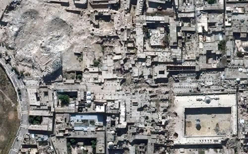 cultural heritage sites in Syria distruction