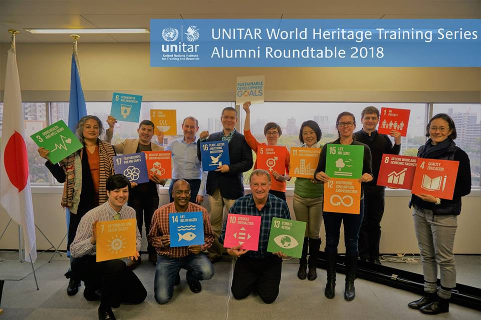 UNITAR Hiroshima World Heritage Training Series Roundtable